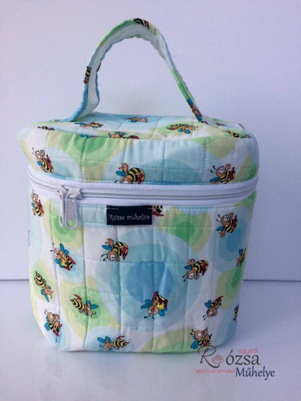 méhecskés kozmetikai táska